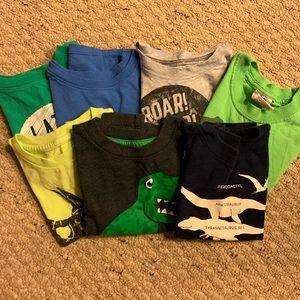 Boys 2T Dinosaur Shirts